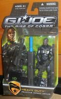 GI Joe Rise of Cobra HEAVY DUTY Mosc New Roc Impact Armor