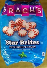 Brachs Star Brites Peppermint Candy - Real Peppermint Oil - 5 Pounds