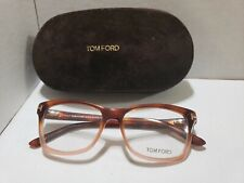 New!! Tom Ford Eyeglasses TF5424 056 Pink Frame  53MM