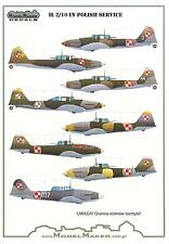 Model Maker Decals 1/72 ILYUSHIN IL-2/10 IN POLISH SERVICE