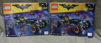 Replacement Lego Batman Movie 70905 The Batmobile 2 Book Instruction Manual ONLY