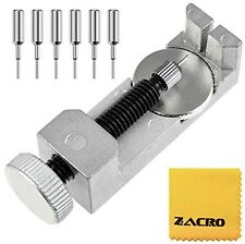 Zacro Watch Band Strap Link Pin Remover Repair Tool Kit for Watchmakers With 3