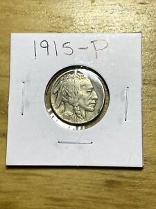 1915 P Buffalo Nickel