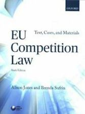 EU COMPETITION LAW - JONES, ALISON/ SUFRIN, BRENDA - NEW PAPERBACK BOOK