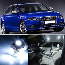 15×White LED Interior SMD Light Kit Error Free for Audi A4 S4 B8 2008+
