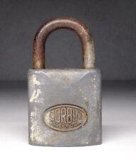 Vintage Corbin Cabinet Lock Co. Padlock No Key