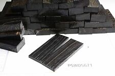 Acero manico BLOCCO NERO STABILIZZATO | 120x40x ~ 17 | stabwood | PUQ 5671