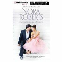 Reflections and Dreams, Nora Roberts (2013, CD Unabridged) Audio Book Free Ship!