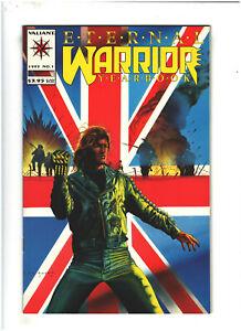 Eternal Warrior Yearbook #1 VF+ 8.5 Valiant Comics 1993 World War I Story