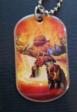 Topps Skylanders Giants Dog Tag Hot Head # 16 of 44 Necklace