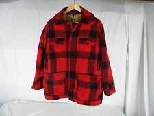 WOOLRICH VINTAGE 1960'S MACKINAW HUNTING COAT MEN SIZE 44