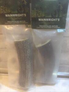 Antlers  2 Packs Filled Turkey Cranberry genuine Dog Chew Wainwright's RRP £24