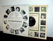 LP 1963 L'ESTATE  RCA - MORRICONE - PAVONE VIANELLO FLIPPERS FIDENCO BINDI PAOLI