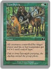 Team Spirtit X4 EX/NM Unglued MTG Magic Cards Green Common