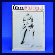 DDR ▶ Filmspiegel 7/1972 Barbara Dittus Anna Magnani Kurt Böwe Laurel und Hardy