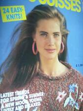 3 Suisses Spring Summer Knitting Book- 24 Easy Knits - Sizes 30-38 Inches