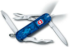 Victorinox Swiss Army Midnite Manager Sapphire Knife w/ Pen & LED Light 53757