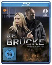 3 Blu-rays *  DIE BRÜCKE - TRANSIT IN DEN TOD - STAFFEL 1 - L. Siwe  # NEU OVP &