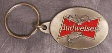 Pewter Key Ring novelty Budweiser logo NEW
