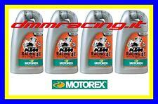 6 Litri Olio Motore 4 tempi MOTOREX KTM racing 20W60 100% Sintetico Lubrificante