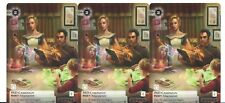Android Netrunner: The Card Game - PAD CAMPAIGN 3x Alternate Art Promo NM/MINT