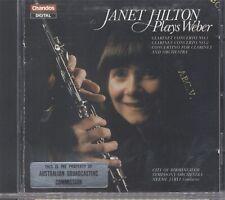 Janet Hilton Plays Weber CD 053