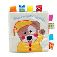 Cloth Book Bed Book Rattle Toy Early Education Animal Environmentally Friendly