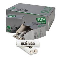 actiTube Aktivkohlefilter SLIM - Ø 7mm - im Set mit 10 - 500 Stück