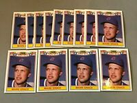 F) Lot of 13 1988 TOPPS 1988 ROOKIES MARK GRACE RC Card #11 CHICAGO CUBS