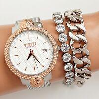 Versus Versace Damen Uhr VSPLK0819  MOUFFETARD Meshband zweifarbig neu