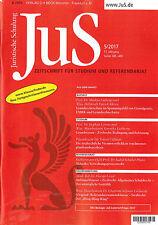 JuS Juristische Schulung 5/2017 - Zeitschrift für Studium und Referendariat