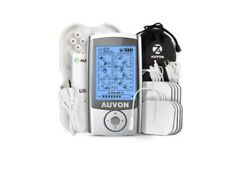 Auvon AS1080041 Rechargeable Tens Unit Muscle Stimulator