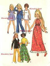 "Vintage Doll Clothes Pattern 5276 - 15"" Velvet Talky Velvet Dina by Ideal"