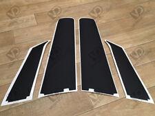 FIAT PUNTO 3dr MK6 GRANDE PORTA B pilastro trama WEATHER STRIP Exterior vinili
