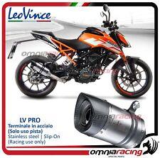 Leovince LV PRO Tubo de Escape acero KTM 390 /125 Duke / RC 390 / 125 201