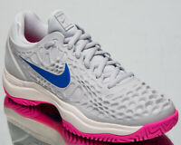 Nike Air Zoom Cage 3 HC Womens Pure Platinum Tennis Shoes Sneakers 918199-003
