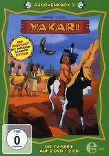 YAKARI - GESCHENKBOX (2) 2 DVD+2 CD NEU