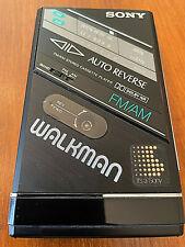 Vintage Sony Walkman Wm-F100Ii Am-Fm Stereo Cassette Player, As Is