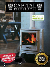 CAPITAL Stoves 2022 DEFRA Log/ Wood Burning/ Multifuel Stove Brochure Birmingham