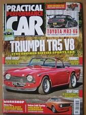 Practical Performance Car November 2016 Triumph TR5 V8 Toyota MR2 Volvo 144