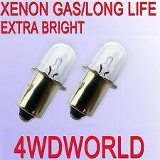 2 worklight Torch Bulbs 18V for Makita Ryobi Hitachi Bosch XENON Gas Camping