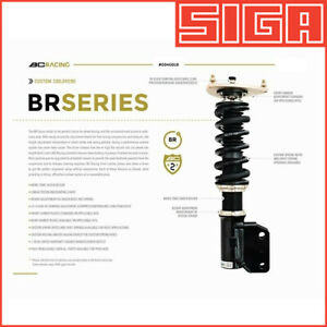 BC Racing BR Coilovers for 14+ Mitsubishi Mirage