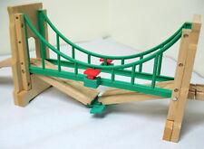 Thomas, Wooden, SODOR SUSPENSION COLLAPSING BRIDGE, LEARNING CURVE 2006, EUC