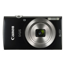 Canon IXUS 185 / ELPH 180 20.0MP Digital Camera 8x Optical Zoom Black