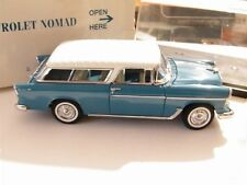 The Danbury Mint 1:24 1955 Chevrolet Nomad Station Wagon W/Title & Original Box