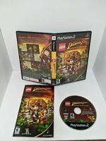 LEGO INDIANA JONES THE ORIGINAL ADVENTURES Playstation 2 PS2 Complete CIB