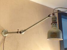 LAMPE ATELIER POTENCE LUMINA 2 BRAS ARTICULé métal DESIGN INDUSTRIEL ROTULE