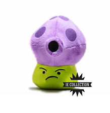 Plants against zombies fumporcino plush snowman vs. Fume-shroom mushroom 2
