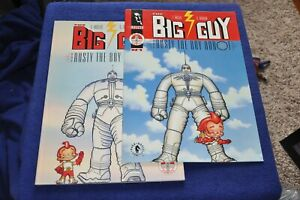 BIG GUY & RUSTY THE ROBOT F. Miller, G. Darrow Softcover + Orig. Issue #1 VF/NM