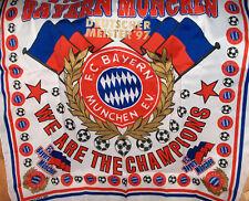 FC Bayern München Fahnentuch Halstuch ca.70 x 70 cm -NEU,Lizenz,Rarität